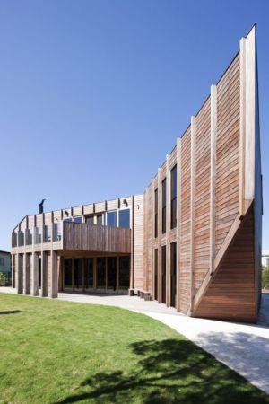 façade terrasse - Aireys House par Byrne Architects -  Aireys Inlet, Australie