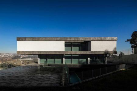 façade terrasse - BE House par Spaceworkers - Paredes, Espagne