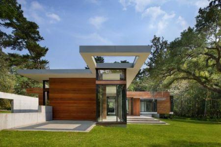 façade terrasse - Bray's Island SC Modern II par SBCH Architects - Sheldon, Usa
