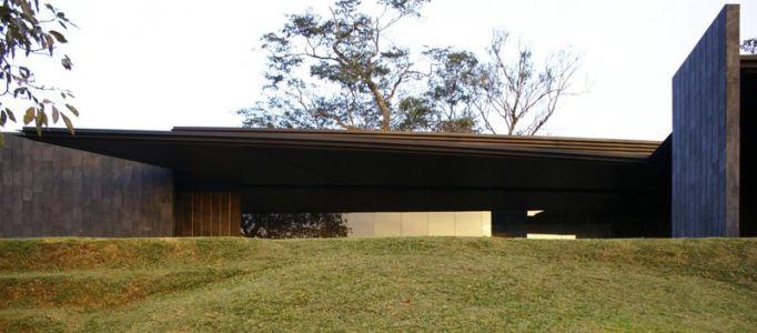 façade terrasse - Casa Altamira par Joan Puigcorbé - Costa Rica