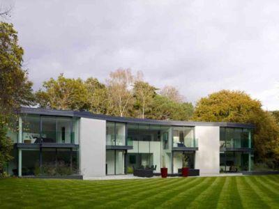 façade terrasse - Cherry Orchard par Western Design Architects - Branksome, Royaume Uni