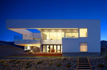 façade terrasse - Elenko Residence par CEI Architecture - Osoyoos, Canada