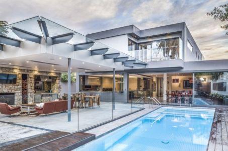 façade terrasse - Hampton Residence par Finnis Architects - Melbourne, Australie