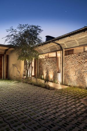 façade terrasse - House-Mouton par Earthworld Architects and Interiors - Pretoria, Afrique du Sud