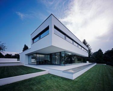 façade terrasse - House Philipp par Philipp Architekten - Waldenburg, Allemagne