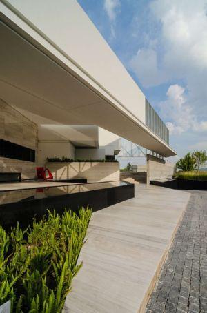 façade terrasse - JRB House par Reims Arquitectura - Santa Domingo, Mexique