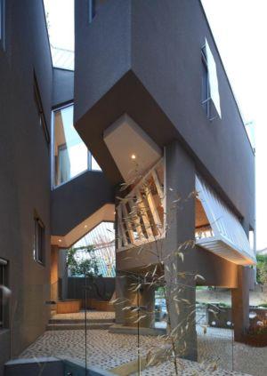 façade terrasse - Kyeong Dok Jai par Uroje Khm Architects - Corée du Sud