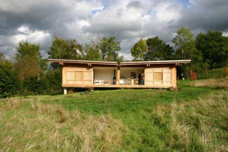 façade terrasse - Maison dans la prairie par Arba - Montreuil, France