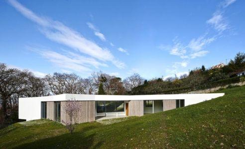 façade terrasse - Maison et atelier d'artiste par Miba architects - Gijón, Espagne