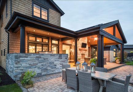 façade terrasse - Maison typique par TTM Development company - Portland, Usa