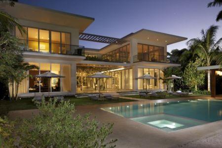 façade terrasse - Mimo house par Kobi Karp architecture - Miami Beach, Usa