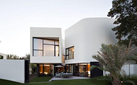façade terrasse  - Mop House par AGI Architects - Al Nuzha, Koweït