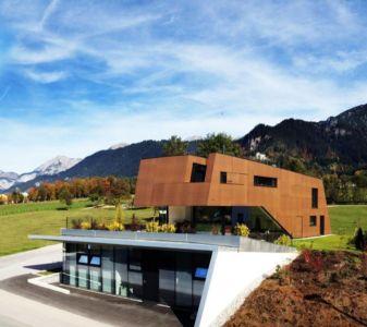 façade terrasse - Muk par mahore architects - Saalfelden, Autriche