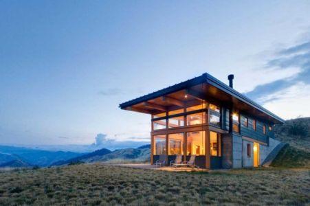 façade terrasse - Nahahum Canyon House par Balance Associates - Nahahum Canyon, Usa