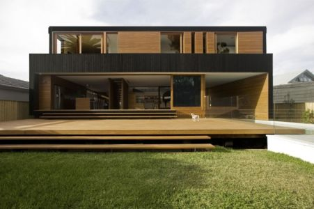 façade terrasse - Narrabeen House par Chrofi - Narrabeen, Australie