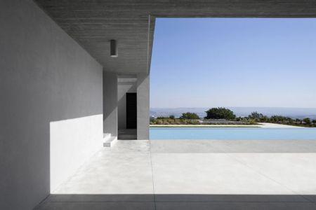 façade terrasse - Residenza Privata par Osa Architettura - Basilicata, Italie