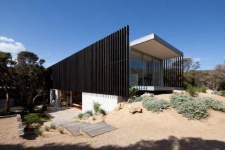 façade terrasse - Rye 4 par Pleysier Perkins à Rye, Australie