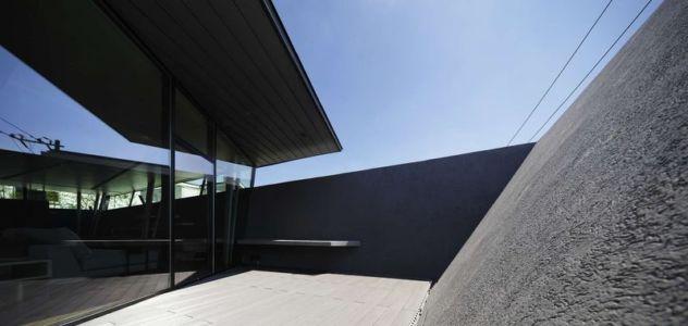 façade terrasse - SRK par Artechnic - Meguro, Japon