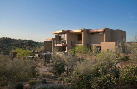 façade terrasse - Sefcovic Residence par Tate Studio Architects - Usa