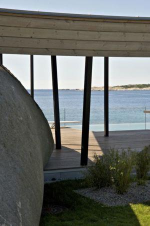 façade terrasse - Summer-House par JVA - Vestfold, Norvège