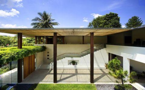 façade terrasse - Tangga House par Guz Architects - Bukit Timah, Singapour