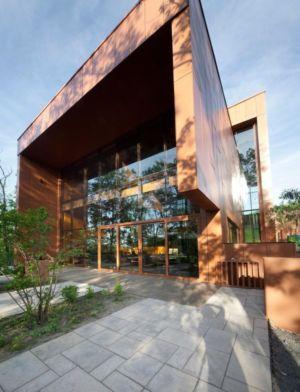 façade terrasse - Terre et Eau par Blouin Tardif Architecture - Rigaud, Canada