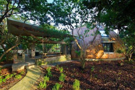 façade terrasse - The Dome Home par Timothy Oulton Design - Foshan, Chine