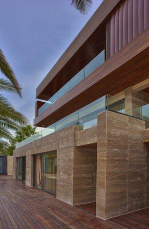 façade terrasse - Touristic Villa 'S, M, L' par studio SYNTHESIS - Tivat, Montenegro