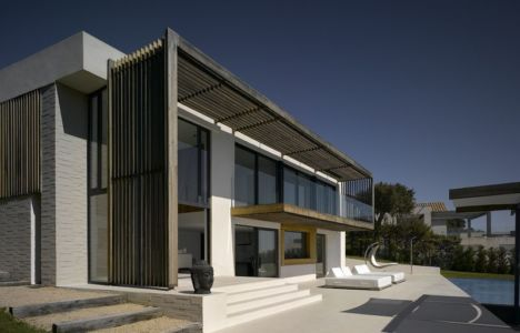 façade terrasse - Villa-Brash par Jak Studio - Saint-Tropez, France