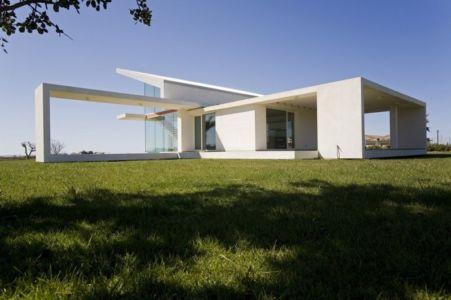 façade terrasse - Villa T by Architrend Architecture - Ragusa, Sicile, Italie