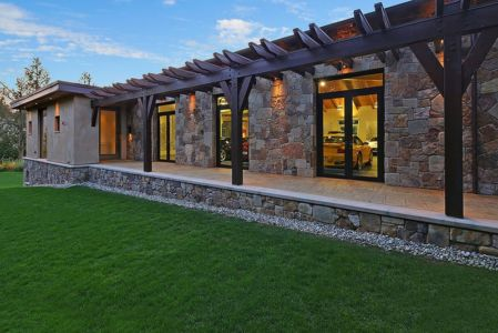 façade terrasse - West Bellevue House - Washington, USA