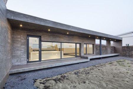 façade terrasse - Wind-House par Moonbalsso - Jesu Island, Corée du Sud