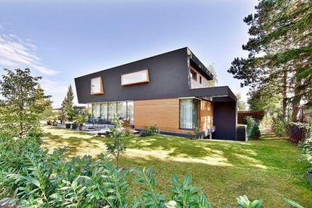 façade terrasse et jardin - House W par Studio Prototype - Duiven, Pays-Bas