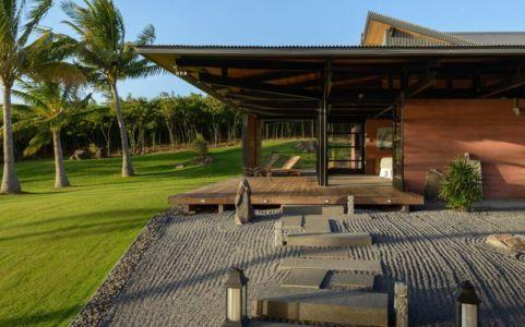 façade terrasse & jardin - Kapalua-Home par Olson Kundig Kaprzycki Designs - Hawaï, USA