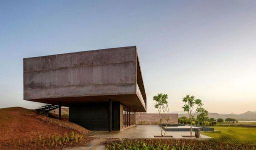 façade terrasse & jardin - Panorama-House par Ajay Sonar - Nashik, Inde