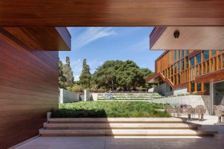façade terrasse & jardin - Vidalakis-Residence par Swatt Miers Architects - Californie, USA