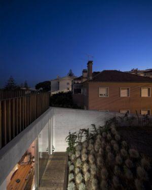 façade terrasse & jardin - house-caxias par António Costa Lima Arquitectos - Caxias, Portugal