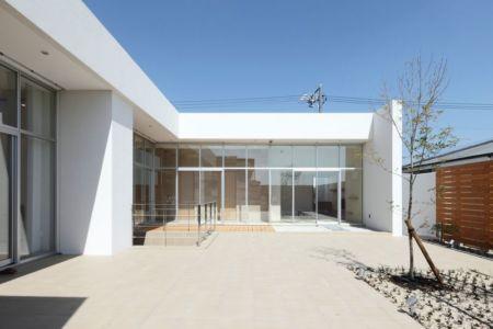 façade terrasse - YAM  par ks-architects - Nagoya, Japon