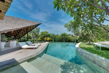 façade terrasse & piscine - Villas-Spa par Layar Designer - Bali, Indonesie