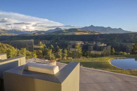 façade terrasse & vue panoramique - home-Colorado par Bill Poss - Colorado, USA