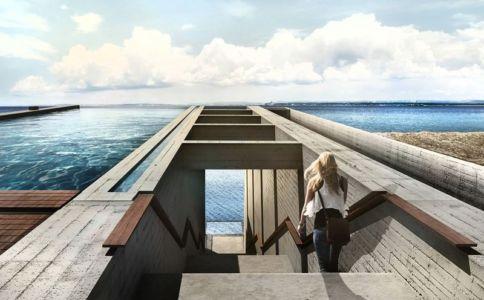 façade toit - Casa Brutale par OPA_Open Plateform - Grèce