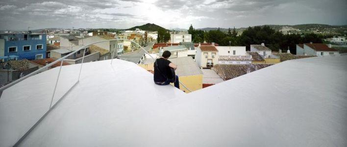 toit terrasse - Casa Lude par Grupo Aranea - Cahegin, Espagne