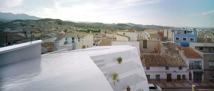 toiture & vue panoramique paysage - Casa Lude par Grupo Aranea - Cahegin, Espagne