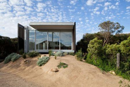 façade vitrée - Rye 4 par Pleysier Perkins à Rye, Australie