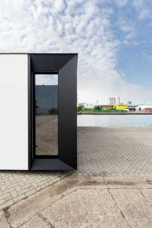 façade vitrée - Zero-Energy par Skilpod - Belgique