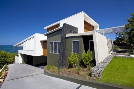 façade vue sur mer - Coolum Bays House par Aboda Design Group - Coolum Beach, Australie - photo Paul Smith