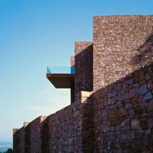 façade balcon - Paz & Comedias House par Ramon Esteve - Sagunt, Espagne