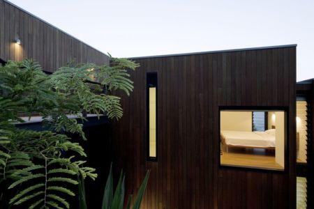 Façade Bois - Surf-Road-House Par Nick Bell D-A - Whale Beach, Australie