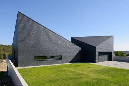 Façade Jardin - House-Krostoszowice Par RS+ - Krostoszowice, Pologne