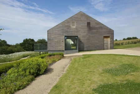 Façade Jardin - Little-England-Farm Par BBM Sustainable Architects - East Sussex, Angleterre